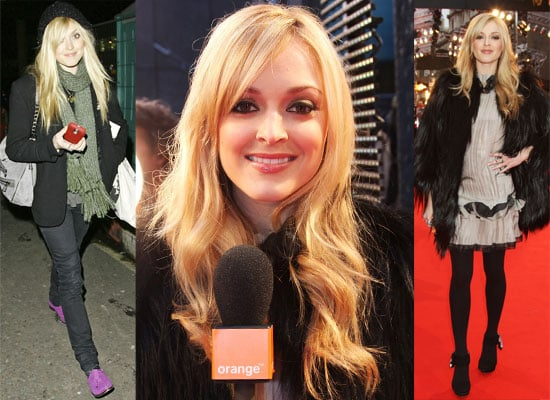 Photos and Video Of Fearne Cotton At The 2009 BAFTA Awards Interviewing Mickey Rourke