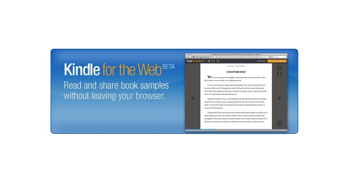 Amazon Kindle For the Web