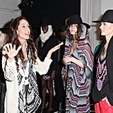 Designer Mara Hoffman gives a pep talk. Photo: Roger Kisby