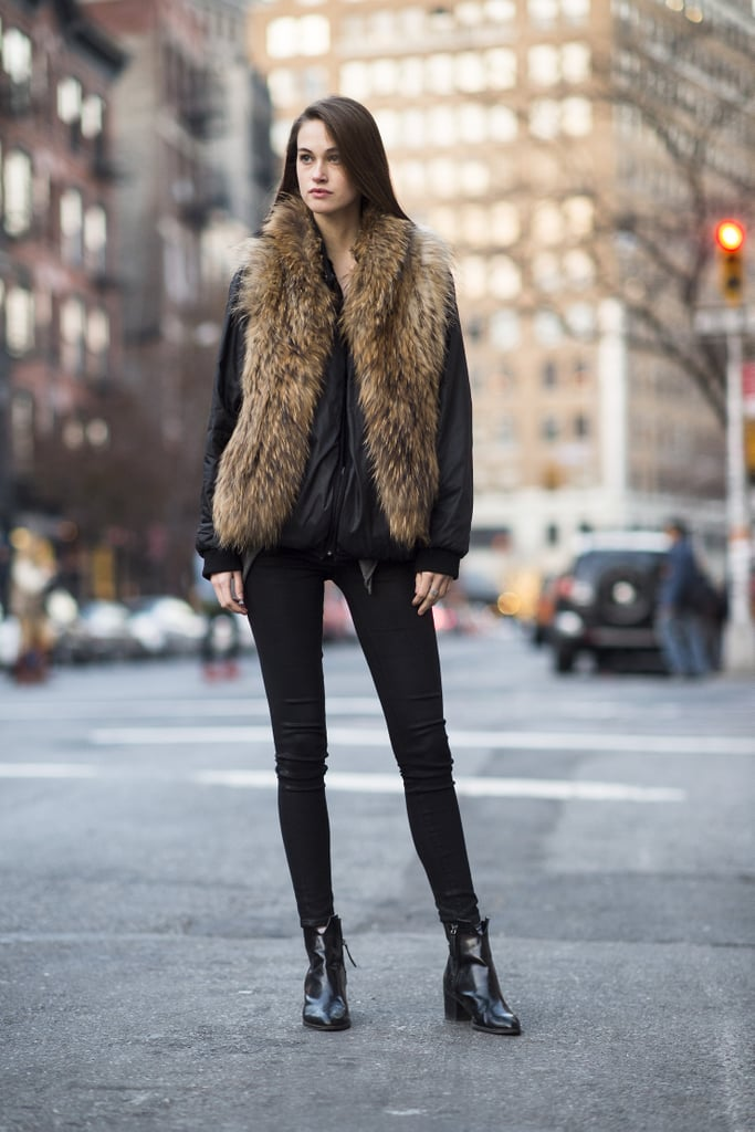 Opt For a Sporty Bomber Jacket Layered With a Cozy Gilet or Waistcoat For a Unique Look