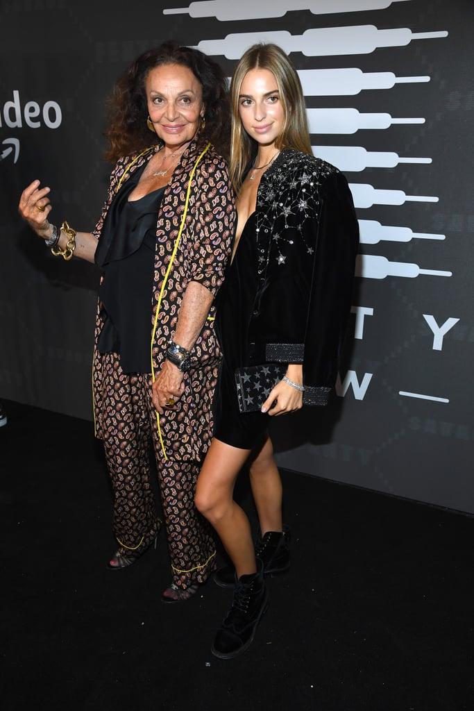 Diana and Talita von Furstenberg at the Savage x Fenty New York Fashion Week Show
