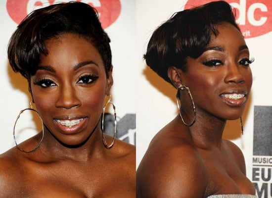 Estelle's Hair and Makeup at the 2008 MTV Europe Music Awards