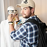 Jack Osbourne checked out the Lacoste L!ve event.