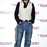 Pictures of Johnny Depp at the Rome Premiere of The Tourist