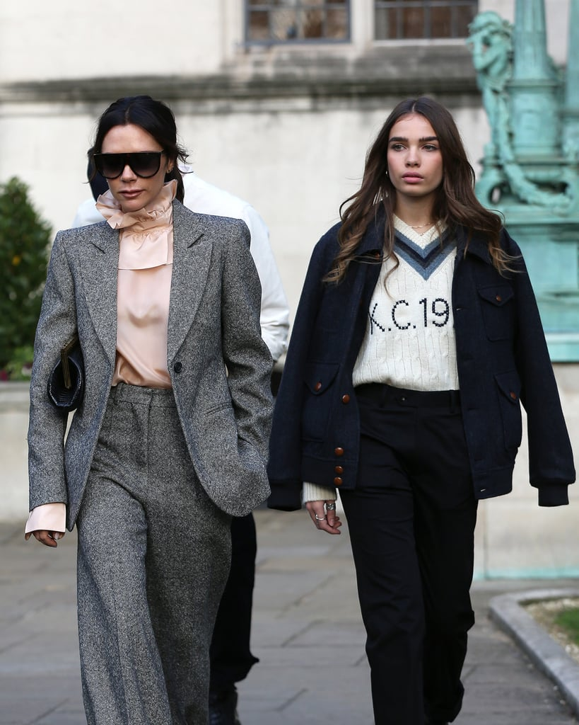 Hana Wore a Kent & Curwen Sweater, and Victoria a Victorian-Inspired Blouse
