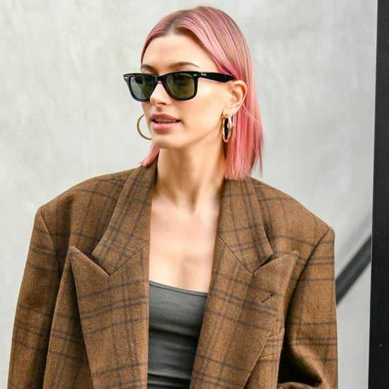 Hailey Baldwin's Pink Hair January 2019