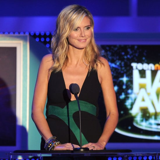 Heidi Klum and Stephen Moyer at the HALO Awards Pictures