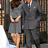 Kate Middleton and Prince Charles.