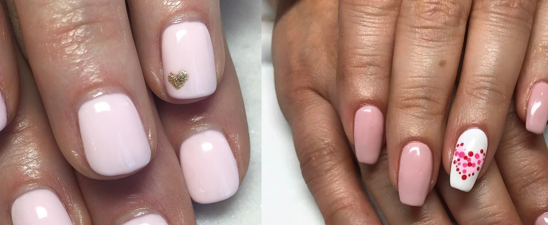 Easy Valentine's Day Nail Ideas
