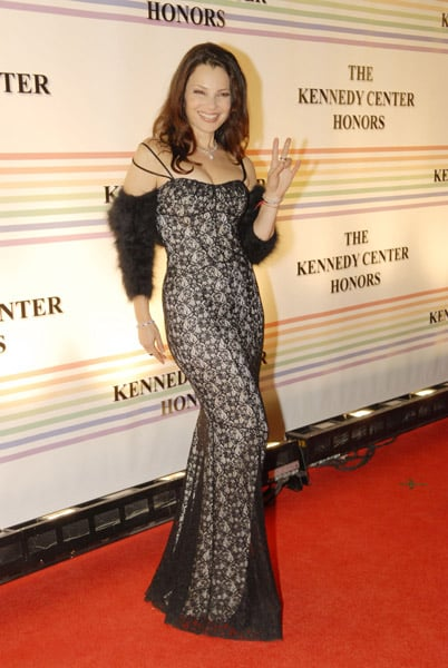 Jessica in Tears at Kennedy Center Tribute