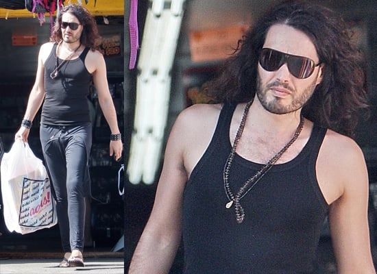 Photos Of Russell Brand Out Shopping In LA, He's Offered Advice To 2009 MTV Movie Awards Host Andy Samberg