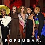 Pictured: Janelle Monae, Katy Perry, Cleo Wade, Tessa Thompson, and Lena Waithe