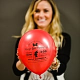 Jenny turned to Harper Gray to create the adorable Minnie Mouse balloon invites.