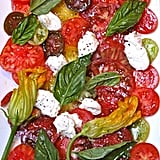Modern Update: Heirloom Tomato and Burrata Salad