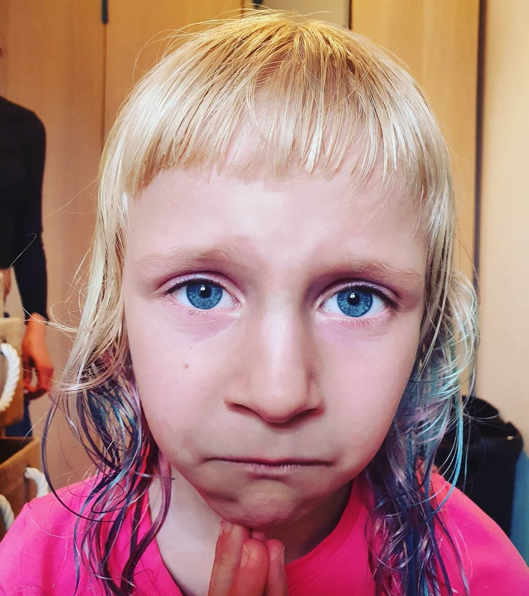 Photos Of Kids At Home Haircuts Done By Parents Popsugar Family