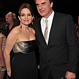 Tina Fey and Chris Noth