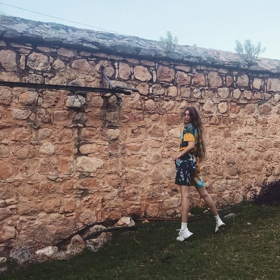 Gigi Hadid's Tie-Dye La Detresse Outfit March 2019