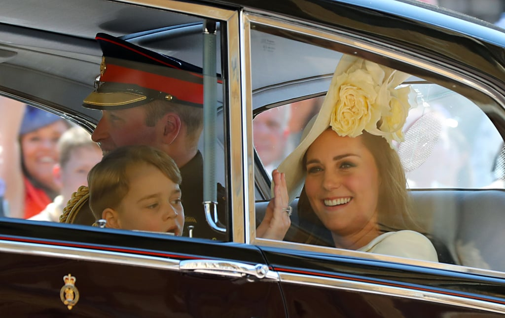 Kate Middleton and Pageboy Prince George, 2018