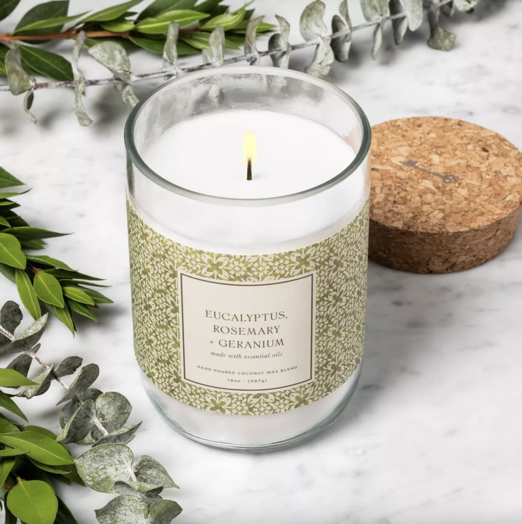 Eucalyptus Rosemary and Geranium Candle