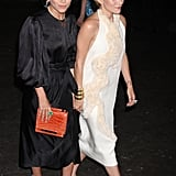 Mary-Kate Olsen and Ashley Olsen arrived at the Fresh Air Fund's Spring Gala in NYC.