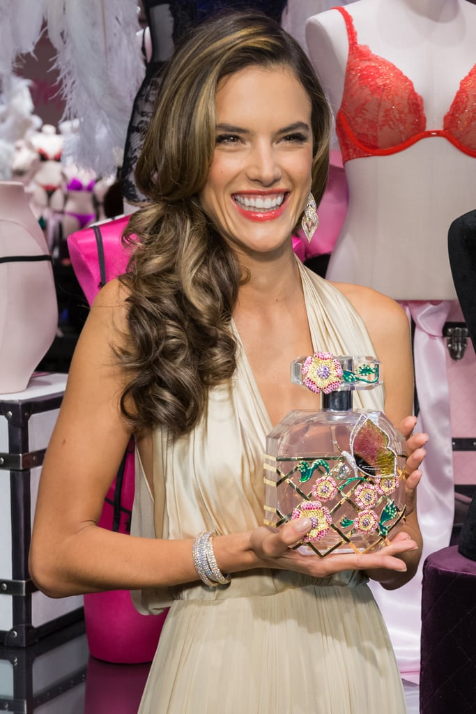 "Alessandra Is the ""Luckiest Girl in the World"" to Model the Victoria's Secret Fantasy Bra"
