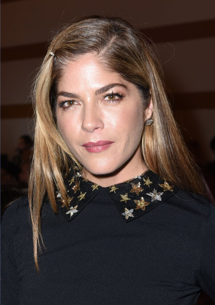 Selma Blair's Blond Bob Haircut