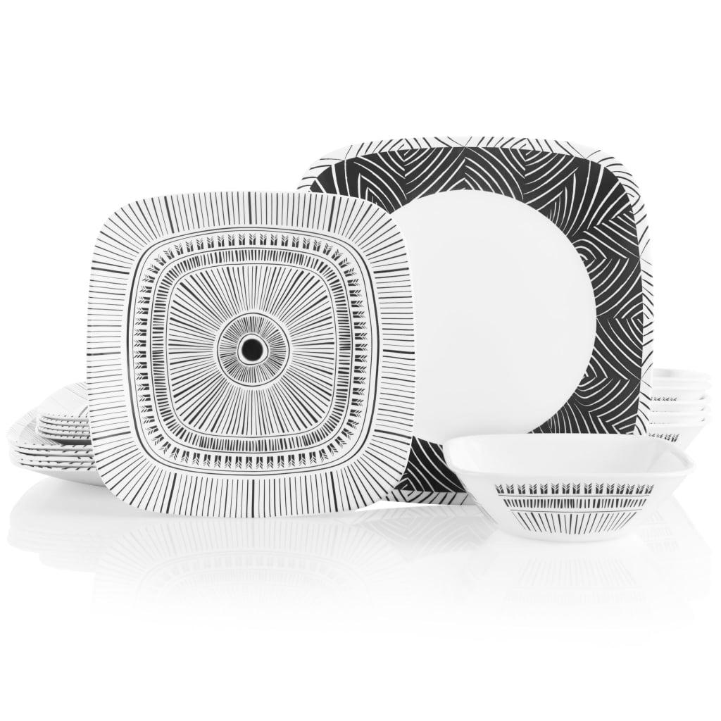 Corelle® Imani Square 18-Piece Dinnerware Set