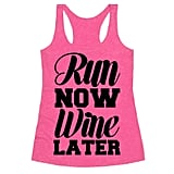 Run Now, Wine Later Tank