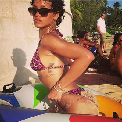Rihanna Partying at Barbados Crop Over Festival | Pictures