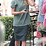 Photos of Jessica Alba and Ashton in LA