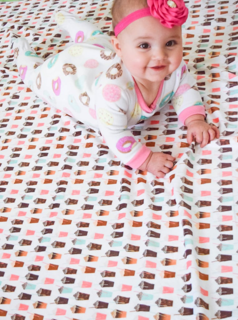 Coffee Cup Swaddle Blanket