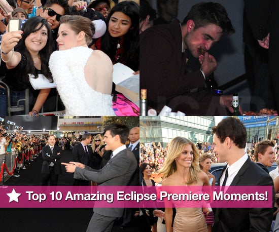 Pictures of Kristen Stewart, Robert Pattinson, Taylor Lautner, Dakota Fanning at Eclipse LA Premiere
