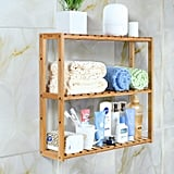 Homfa Bamboo Bathroom 3-Tier Shelf