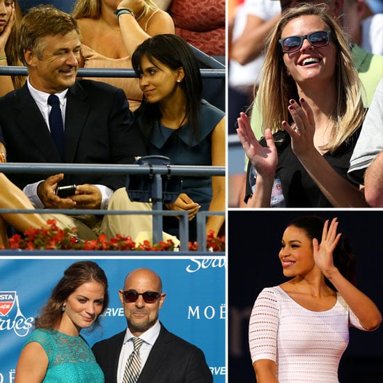 Celebrities at 2012 US Open Pictures
