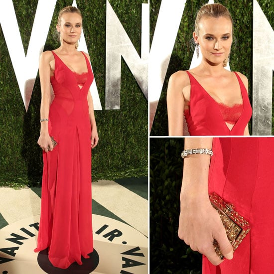 Diane Kruger Sexes It Up in Calvin Klein at the Vanity Fair Oscars After Party: Do you Like It?