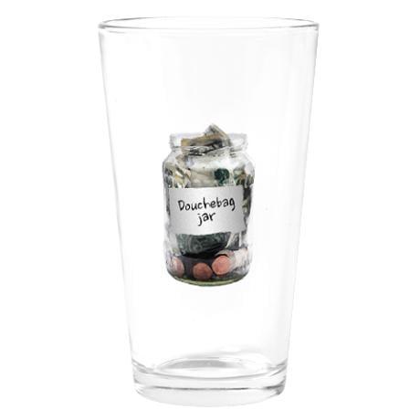 Douchebag Jar Drinking Glass ($14)