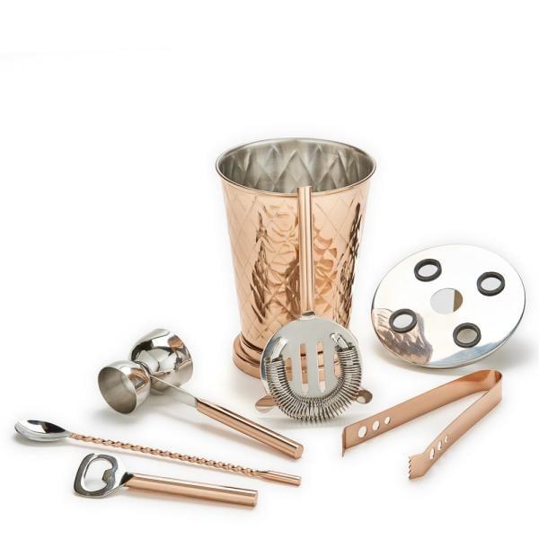 Old Dutch 6-Piece Copper Bar Tools Set
