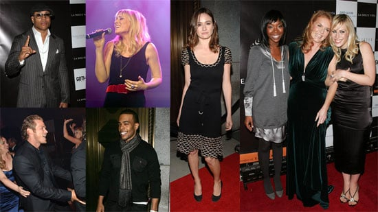 Celebrities Enjoy La Dolce Vita