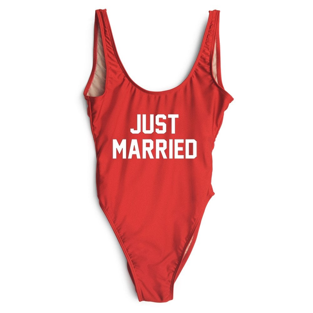 Private Party Just Married Swimsuit ($99)