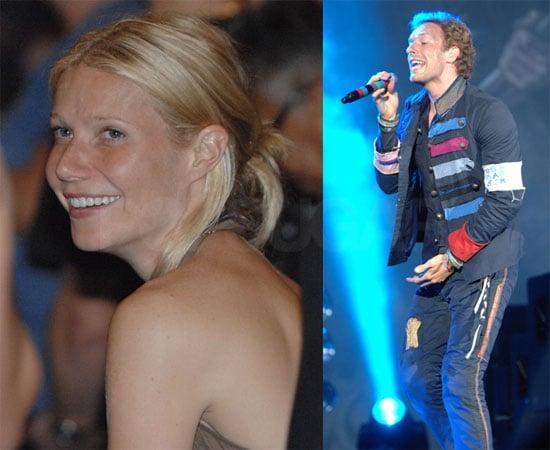 Gwyneth Watches Coldplay