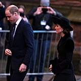 Prince William and Kate Middleton at Memorial November 2016