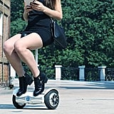 Self-Balancing Scooter With Seat