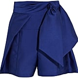 Paper London Ansou Belted Twill Shorts ($300)