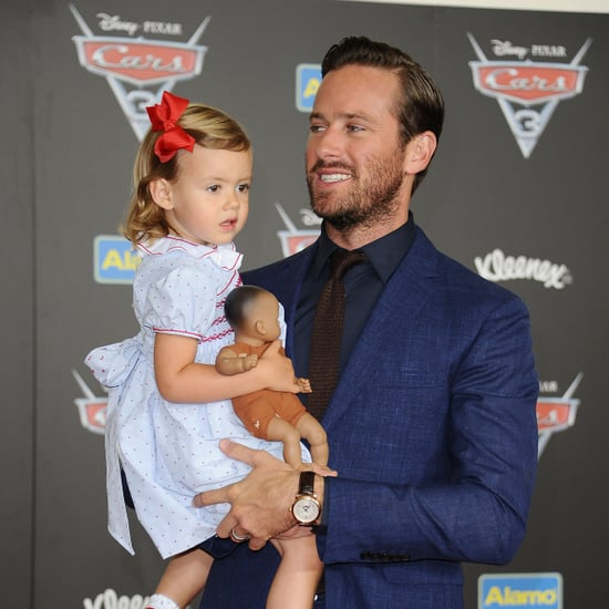 Armie Hammer's Daughter's Drawing of the Eiffel Tower