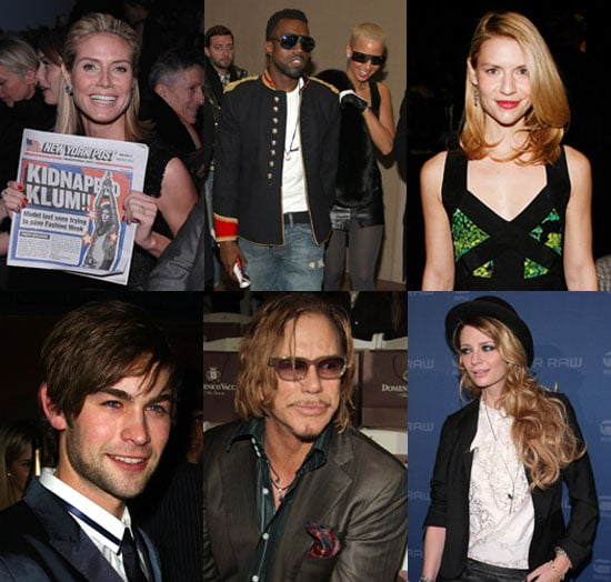 Photos of Kanye West, Chace Crawford, Josh Harnett at 2009 Fall New York Fashion Week