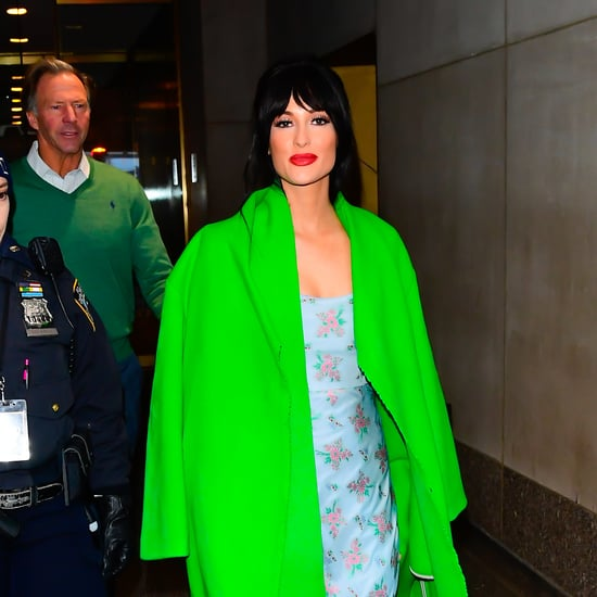 Kacey Musgraves' Bright Green Coat in NYC