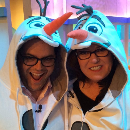 Josh Gad and Rosie O'Donnell Play Frozen Trivia