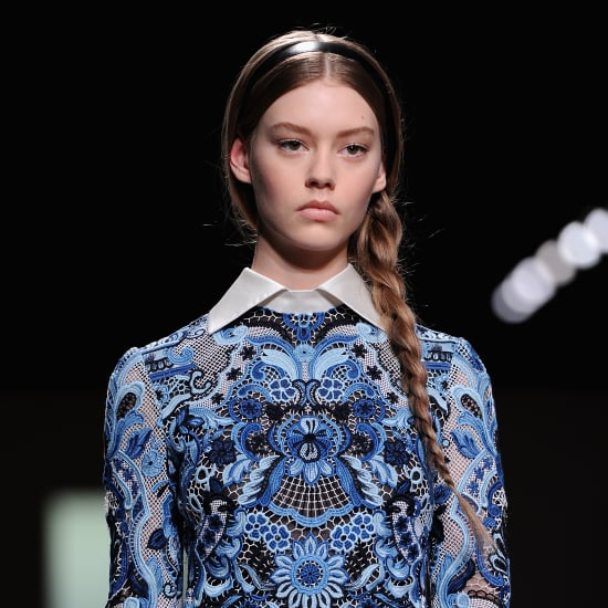 Valentino Plaits Paris Fashion Week