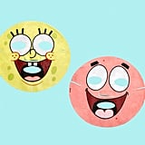 Hipdot x SpongeBob SquarePants Best Friends Sheet Masks