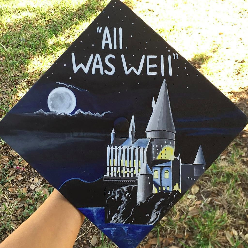 & Harry Potter Graduation Cap Ideas | POPSUGAR Tech